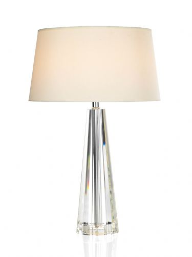 Cyprus Table Lamp complete with shade CYP4208 (Class 2 Double Insulated)